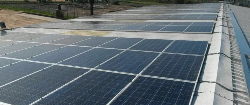 Planta Fotovoltaica instalada en Terminal de Cargas